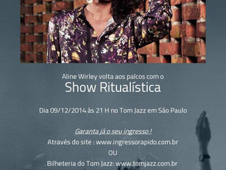 Confirmado o Show da Aline Wirley em São Paulo