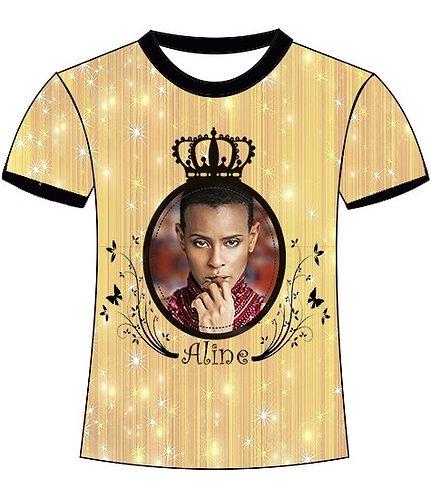 Camiseta Fã-Clube Oficial Aline Wirley - P