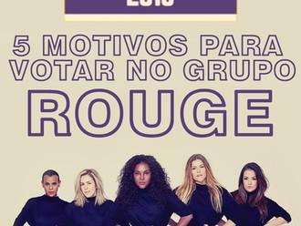 5 Motivos para votar no Rouge Prêmio Multi Show 2018