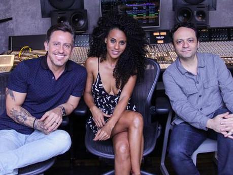 Ex-Rouge, Aline Wirley entra em estúdio para gravar seu novo trabalho solo