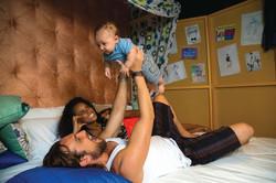 Aline, Igor e Antonio Ilha de Caras 1