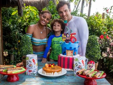 Antonio, filho de Igor Rickli e Aline Wirley, ganha festa surpresa no Beach Park: Ele não vai esquec