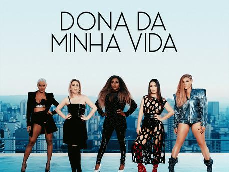 "Rouge divulga capa do single ""Dona da Minha Vida"""