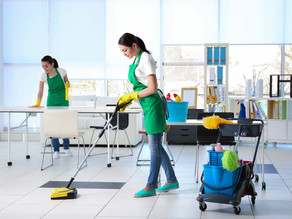 5 BENEFITS OFFICE CLEANING?