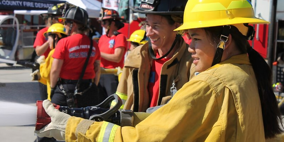 First Alarm Girl's Fire Camp S.F.