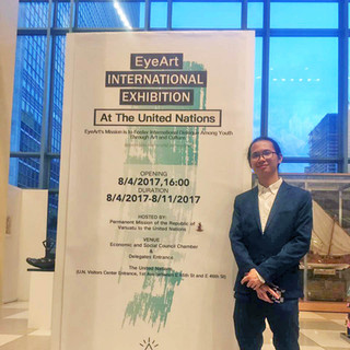 Eye Art International Youth Exhibition at the United Nations Headquarters