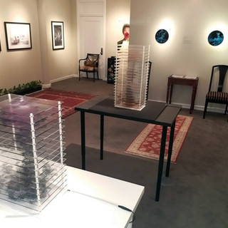 Beyond the Great Wall, Two artist's solo exhibition, E-Moderne Gallerie, Philadelphia