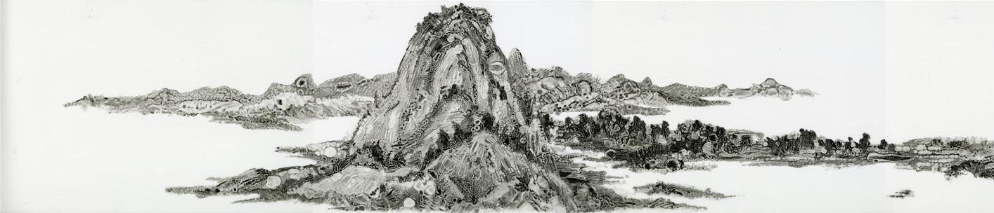 Dwelling in the Fuchun Mountains (detail 1)