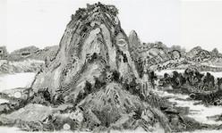 Dwelling in the Fuchun Mountains (detail 2)