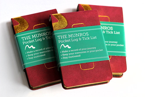 The Munros Pocket Log