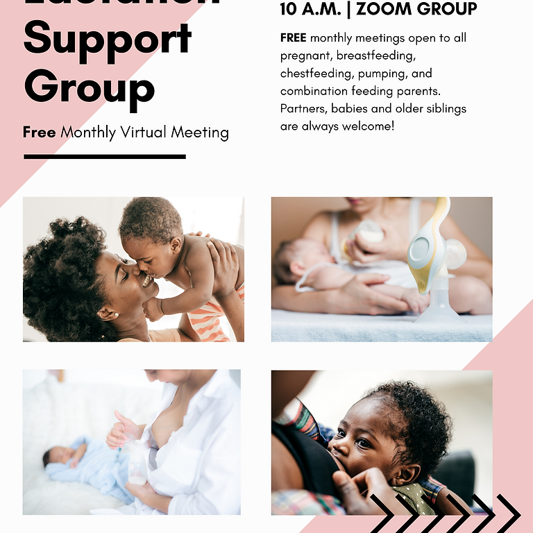 Monthly Lactation Support Group with Featured Guest: SHANNON HUNTER, RN