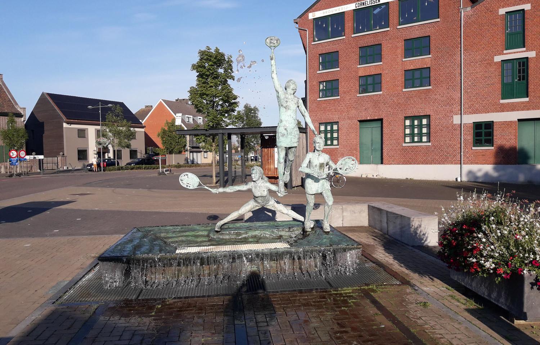 Opitter - Standbeeld Clijsters