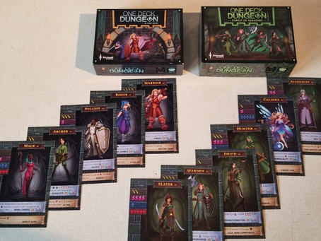 Review: One Deck Dungeon