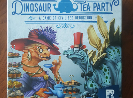 Review: Dinosaur Tea Party