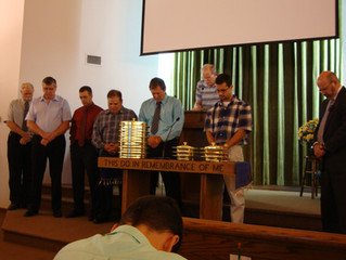 Sunday August 3, 2014 Installation of Deacons