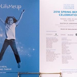 Lift Me Up - The New York Center for Children 2018 Spring Benefit Celebration