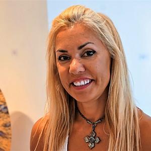 Luciana Pampalone Art Closing Reception at White Room Gallery in Bridgehampton