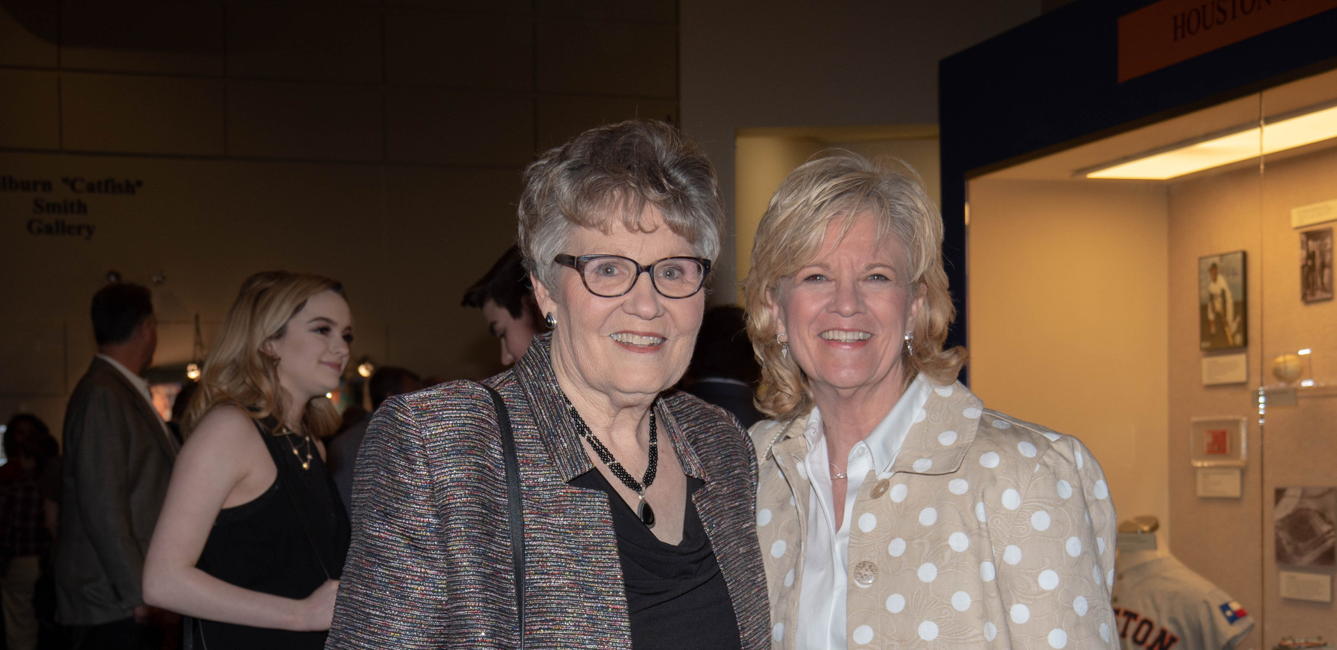 Barbara Camp and Carol Weman