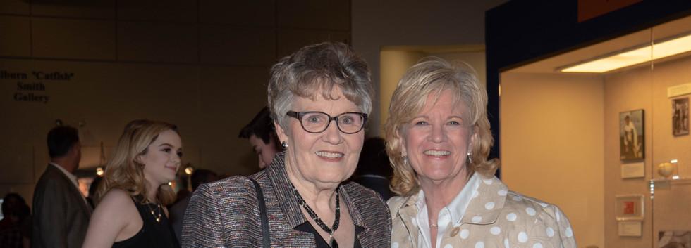 Barbara Camp and Carol Weman