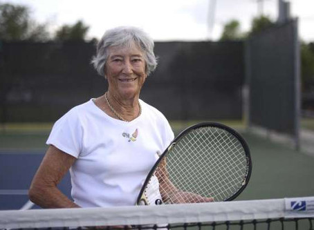 Margaret Canby to Captain ITF Super Senior Team