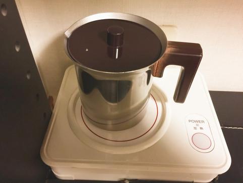 卓上湯沸し器
