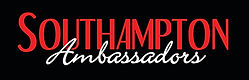 Southampton Ambassadors Red on Black LOGO
