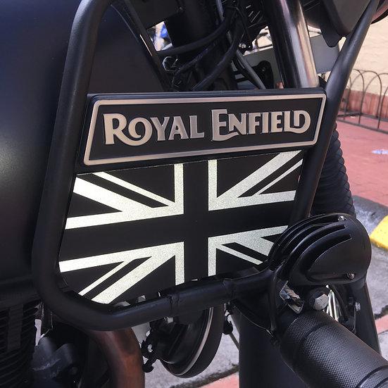 Banderas X2 Unidades en Reflectivo