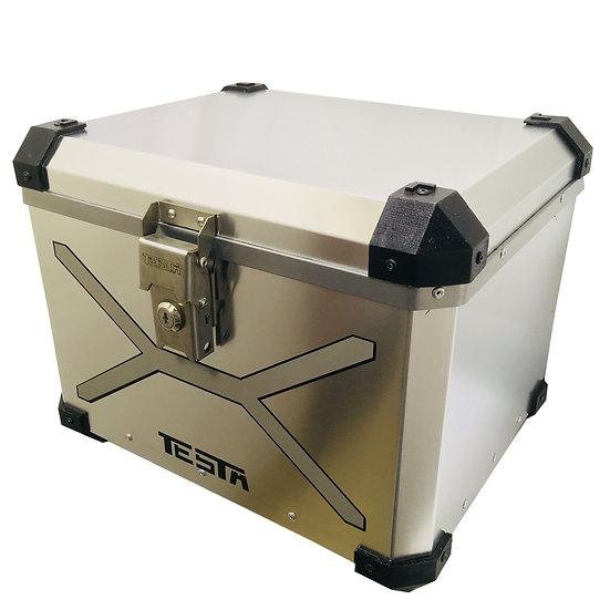 Top Case 40 litros Color Aluminio-Metalizado