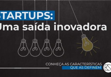 Startup: Uma Saída Inovadora
