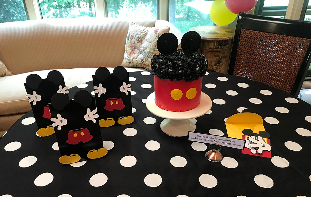 Mickey Mouse Themed First Birthday Party Decor