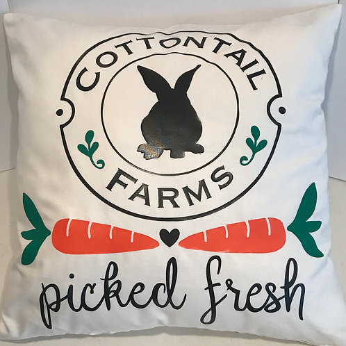 Cottontail Farms Pillow Cover
