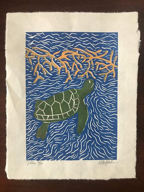 """Stella"" Limited Edition Linocut Print"