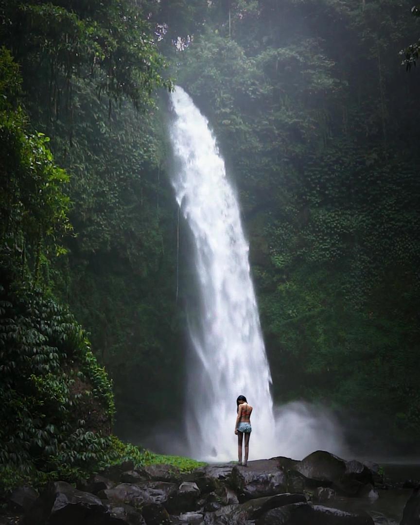 Nungnung Waterfalls, Bali