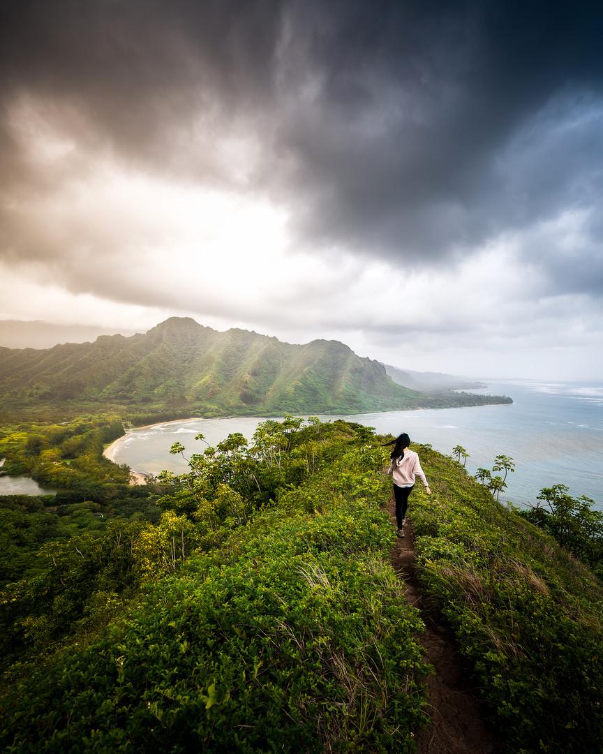 Crouching Lion Hike, Honolulu