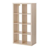 IKEA KALLAX Shelf + Inserts