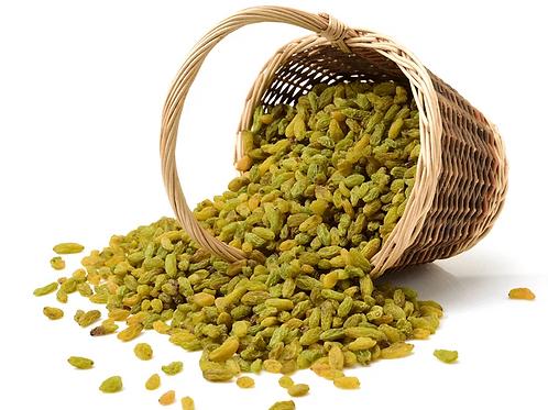 Green Raisins Indian - 1 KG (Kishmish)