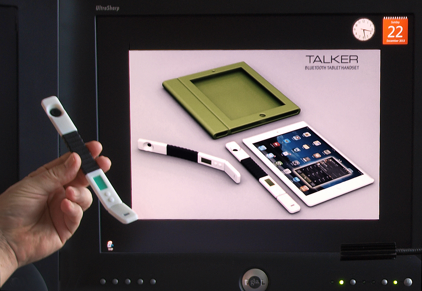 TALKER screen and print