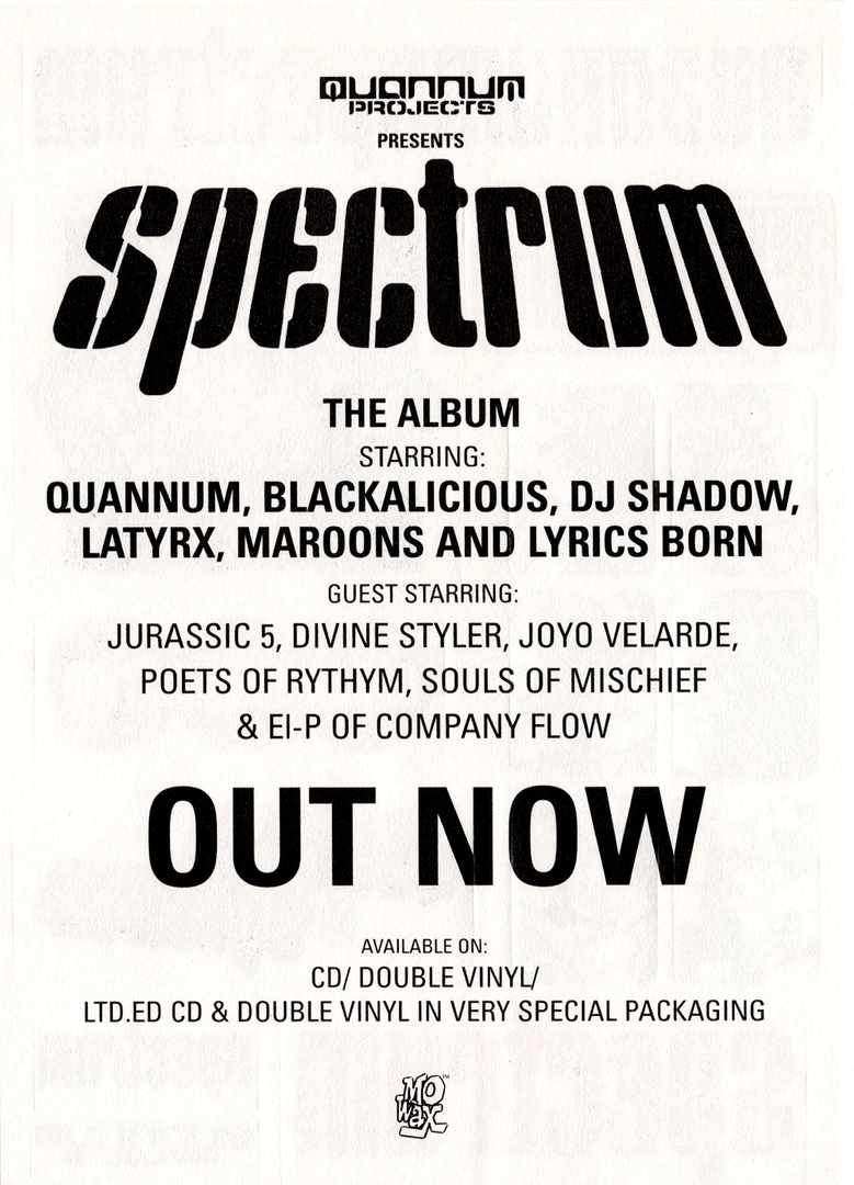 Quannum Spectrum Back