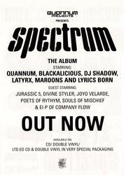 Quannum Spectrum Back