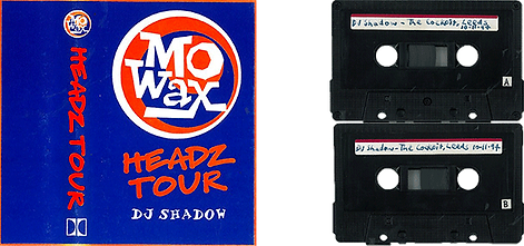 Mo Wax Headz Tour tape