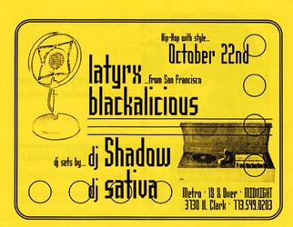 Latyrx Tour 1998