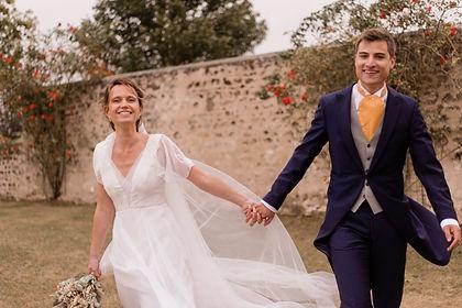 robe de mariee soie et guipure