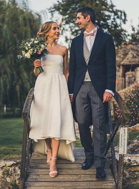 couturier robe de mariée bordeaux