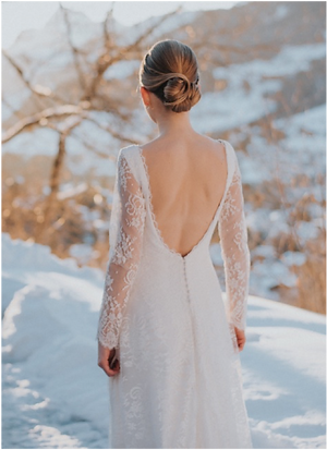 robe de mariage hiver