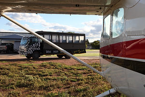 Fly-in to Robertson