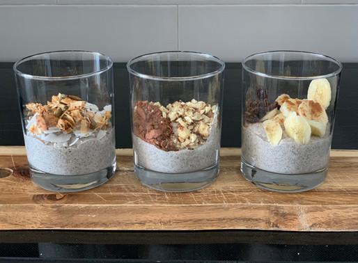 3 Low Sugar Chia Seed Pudding Recipies