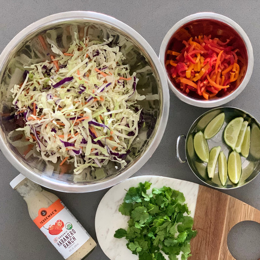 2 Spicy Slaw Side Dishes