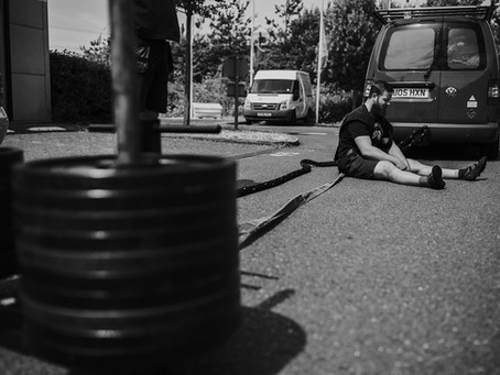 Preparing your body to handle any random event and training randomly are two very different things.