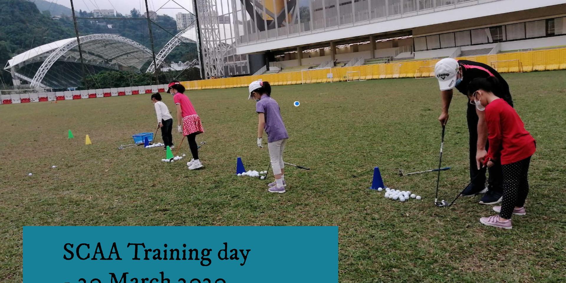 SCAA training day