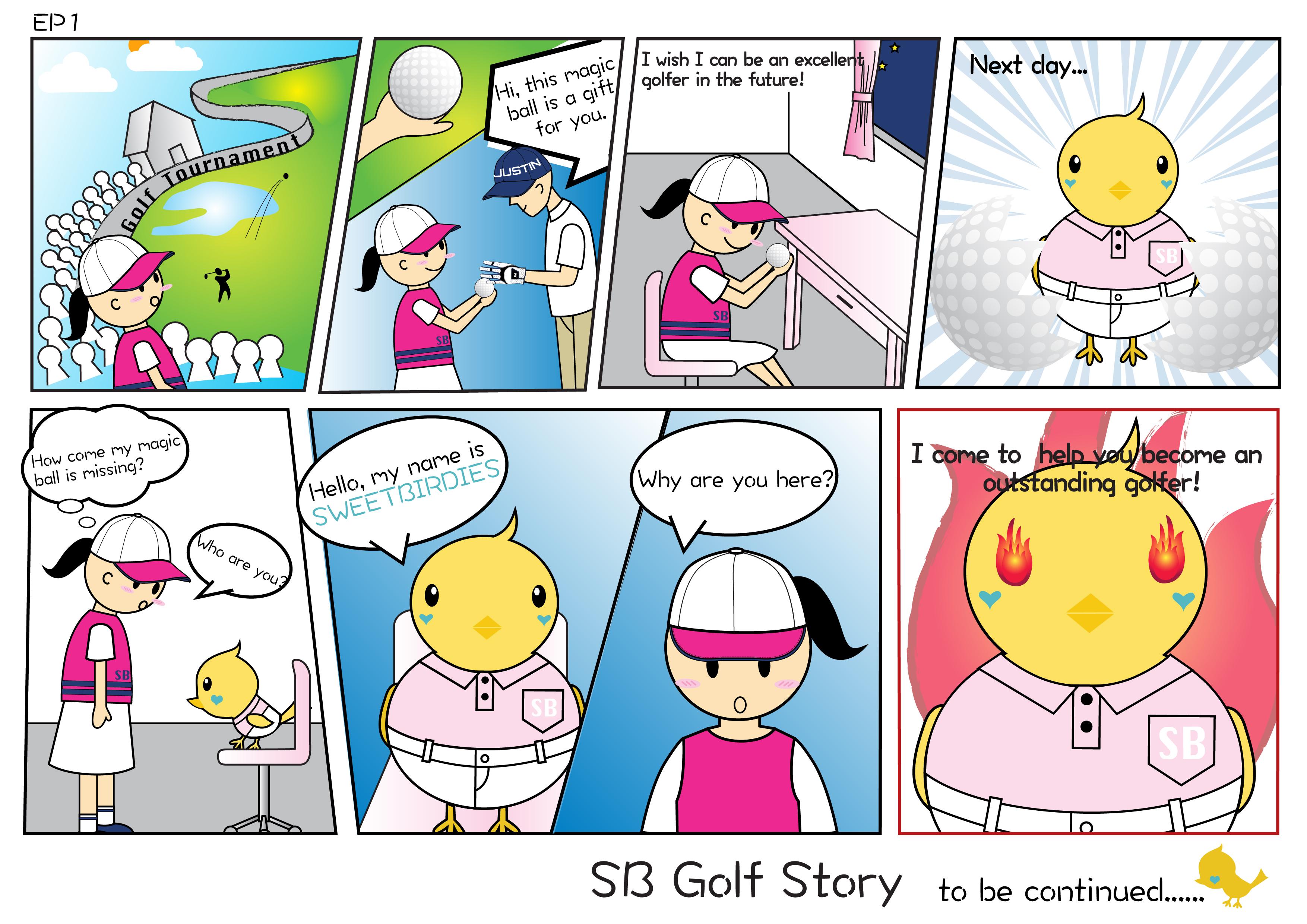 EP1 Eva's Golf Dream